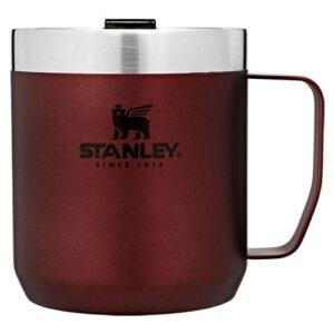 ТЕРМОКРУЖКА STANLEY CLASSIC CAMP 0.35Л WINE (6939236373197)